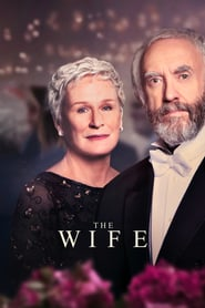 The Wife (2018) Movie poster on cokeandpopcorn