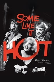 View Some Like It Hot (1959) Movie poster on Ganool