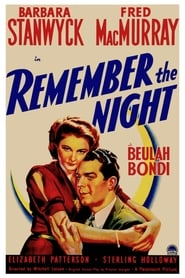 View Remember the Night (1940) Movie poster on 123movies
