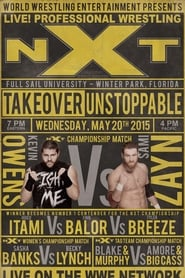 NXT TakeOver: Unstoppable poster