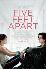 View Five Feet Apart (2019) Movie poster on Ganool