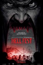 View Hell Fest (2018) Movie poster on cokeandpopcorn