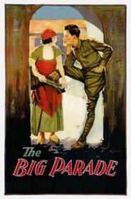 View The Big Parade (1925) Movie poster on Ganool