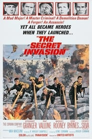 View The Secret Invasion (1964) Movie poster on 123movies
