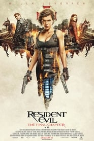 Poster Movie Resident Evil: The Final Chapter 2016