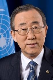 Ban Ki-moon On Her Shoulders