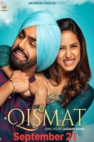 View Qismat (2018) Movie poster on INDOXX1