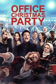 Poster Movie Office Christmas Party 2016