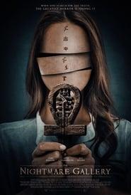 View The Nightmare Gallery (2018) Movie poster on Ganool