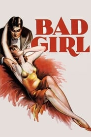 View Bad Girl (1931) Movie poster on Ganool