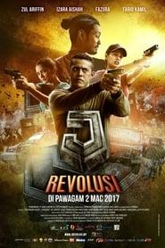 View J Revolusi (2017) Movie poster on Ganool