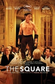 View The Square (2017) Movie poster on cokeandpopcorn.click