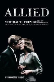 Poster Movie Allied 2016