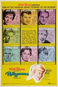 View Pollyanna (1960) Movie poster on Ganool
