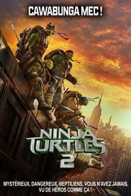 Poster Movie Teenage Mutant Ninja Turtles: Out of the Shadows 2016