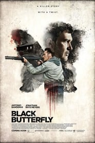 Poster Movie Black Butterfly 2017