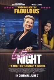 Late Night (2019) Movie poster on 123movies