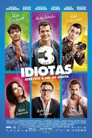 Poster Movie 3 Idiotas 2017