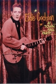 Eddie Cochran At Town Hall Party poster