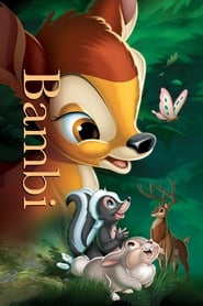 View Bambi (1942) Movie poster on Ganool