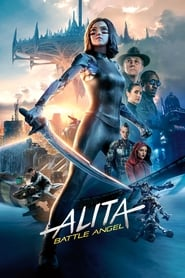 Alita: Battle Angel (2019) Movie poster on cokeandpopcorn