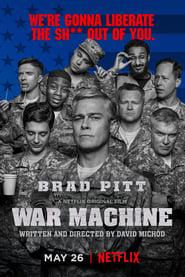 Poster Movie War Machine 2017