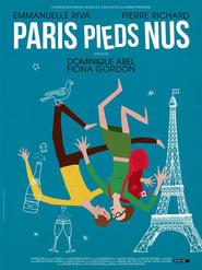 Paris pieds nus  poster