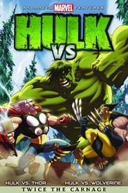 View Hulk Vs. (2009) Movie poster on Ganool