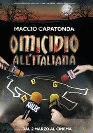 Poster Omicidio all'italiana 2017