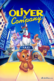 Poster Oliver & Company 1988