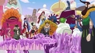 One Piece Whole Cake Island Arc Episode 834 : The Mission Failed?! The Big Mom Pirates Strike Back!