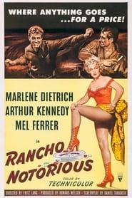 Poster Rancho Notorious 1952