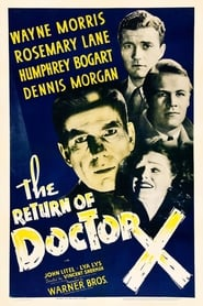 Poster The Return of Doctor X 1939