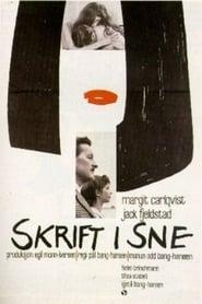 Skrift i sne 1966