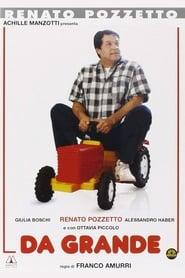 Poster Da grande 1987