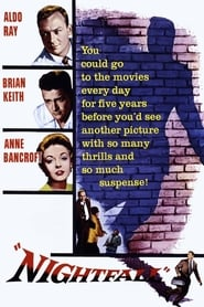 Nightfall (1956) Poster