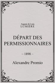Départ des permissionnaires 1898