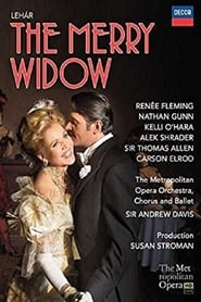 DVD cover image for The merry widow