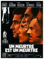 Un meurtre est un meurtre (1972)