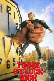 Poster Three O'Clock High 1987