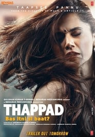Thappad Full Movie Watch Online Free