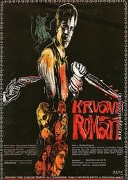 Krvavý román plakat