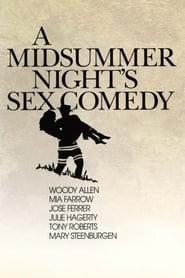 Poster A Midsummer Night's Sex Comedy 1982
