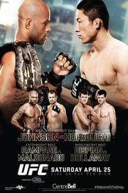Poster UFC 186: Johnson vs. Horiguchi 2015