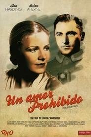 Un amor prohibido 1934