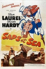 Poster Saps at Sea 1940