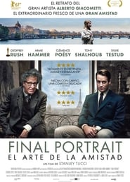 Imagen Final Portrait. El arte de la amistad (2017) Bluray HD 1080p Latino