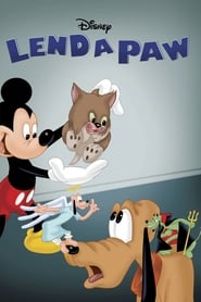Poster Lend a Paw 1941