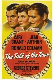 Poster The Talk of the Town 1942
