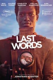 Regardez Last Words Online HD Française (2020)